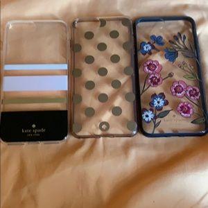 Three Kate Spade IPhone 8/7 Plus Cases